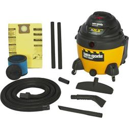 Right Stuff 16 Gallon 6.25 Peak HP Wet / Dry Vacuum