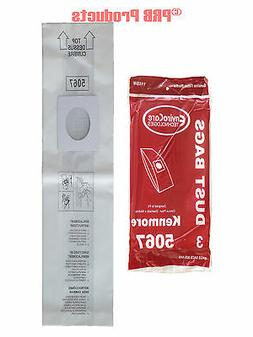 Sears 50678 Kenmore Style X Upright Vacuum Allergy Bag #1163