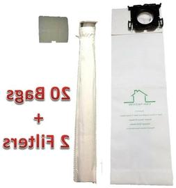 Casa Vacuums Brand replacement Sebo, Windsor Bag Filter Kit.