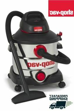 Shop-Vac 5989400 8 gallon 6.0 Peak HP Stainless Wet Dry Vacu