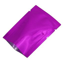 Smell Proof 3.1mil Mylar Foil Sample Pouch Heat Sealable Alu