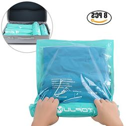 Space Saver Storage Bags for Clothes by TOPJUM No Vacuum or