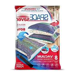 Spacesaver Premium Vacuum Storage Bags 8 Pack  Space Saver B