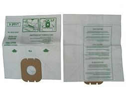 Hoover Spirit Canister Type K Allergen Filter Bag 3 Pk Genui