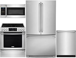 Electrolux 4-Piece Stainless Steel Kitchen Package with EI23