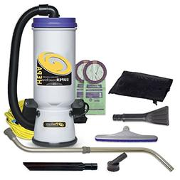 ProTeam Super CoachVac HEPA Commercial Backpack Vacuum with