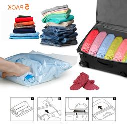 Travel Compression Space Saver Storage Bags Hand Rolling Rol