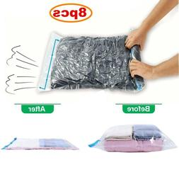 Travel Space Saver Bags Vacuum Storage Bag for Clothes,Compr