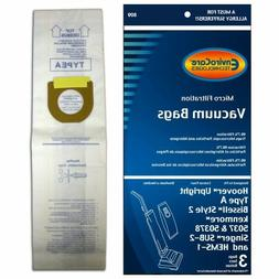 Hoover Type A Vacuum Bags, 3 Pack, Also fits Bissell Style 2