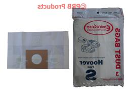 Type S Hoover 4010100S Vacuum Bags Model Power Turbo Max Spe