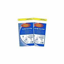 Oreck XL Vacuum Bags  Type CC Part # CCPK8DW *Fits All Oreck