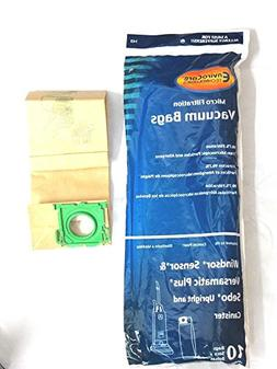 Vacuum Cleaner Bags 10 Windsor Sensor, Versamatic Plus, Sebo