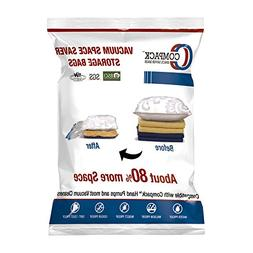 Vacuum Compressed Space Saver Storage Bags - Set of 6 - 2 La