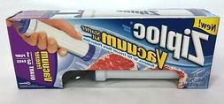 Ziploc Vacuum Quart Freezer Starter Kit: Pump + 3-Bag Pack -