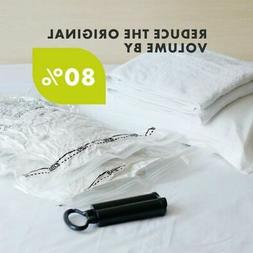 Vacuum Seal Storage Bag Heavy Duty Large  Space Saving Cloth