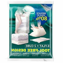 Vacuum Storage Bags,Space Saver Bags for Comforters Blankets