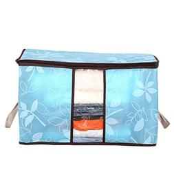 Vacuum Storage Bags Space Bags - Flowers Printed Non-woven Q