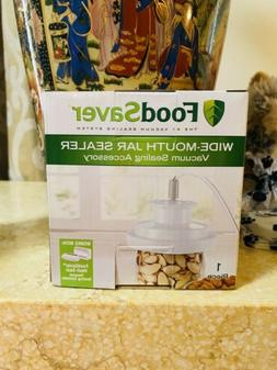 FoodSaver Wide Mouth Jar Sealer. Brand New. Shipped from U