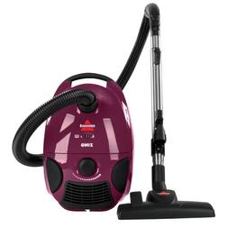 Zing Bagged Canister Vacuum, Purple