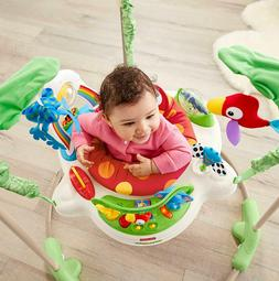 Fisher-Price Rainforest Jumperoo Baby Bouncer Jumping Exerci